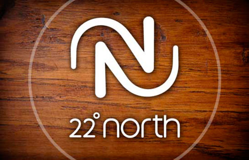 22° North Logo Design
