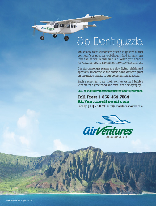 AirVentures Hawaii Print Ad