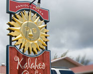Kalaheo Cafe Sign Design