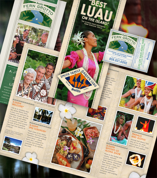 Smith's Kauai Brochures