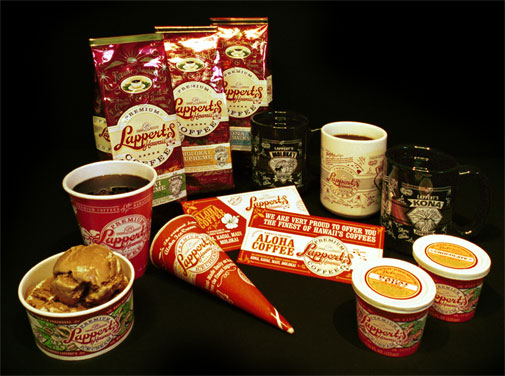 Lappert's Hawaii Product Packaging