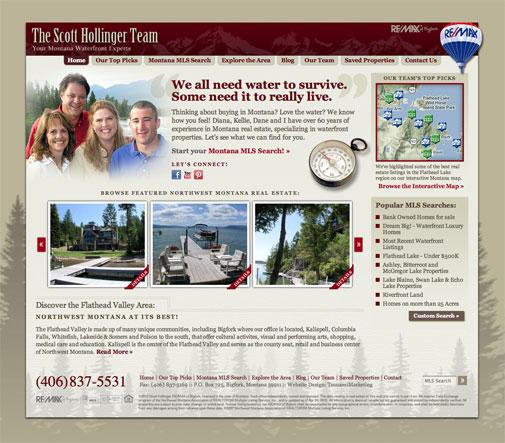 Scott Hollinger Team Website