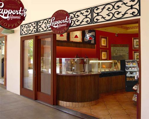 Lappert's Hawaii Store Design