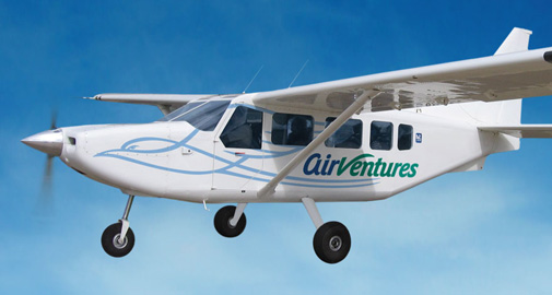 AirVentures Plane Graphics