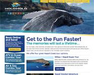 Boat Tour Website Design