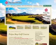 Golf Course Website Design