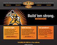 Island Truss Website Design