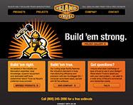 Island Truss Website Design