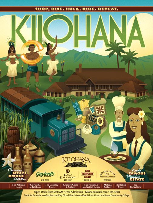 Kilohana Print Advertising