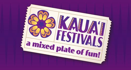 Kauai Festivals Logo Design