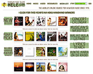 Mele.com Website Design