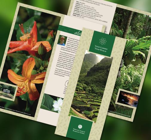 NTBG Campaign Brochure