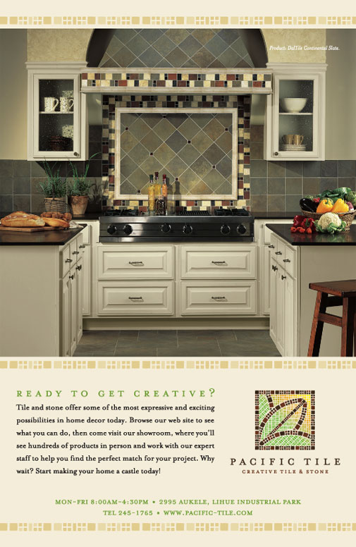 Pacific Tile Advertising