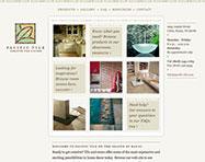 Pacific Tile Website Design