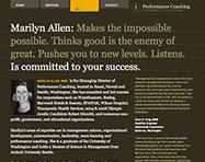 Performance Coaching Website