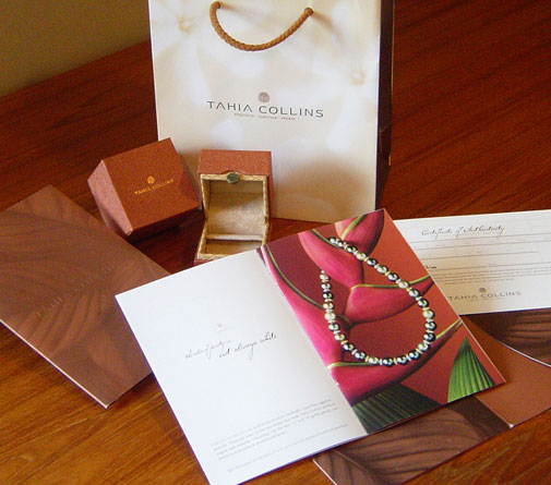 Tahia Pearls Jewelry Packaging