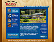 Truss Systems Website Design
