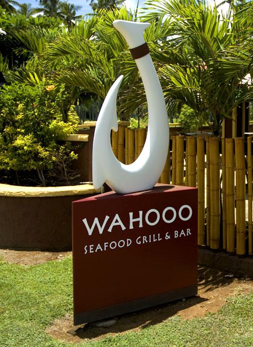 Wahooo's Restaurant Signage