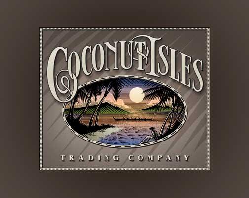 Coconut Isles Logo Design