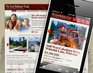 Real Estate Mobile Website Design