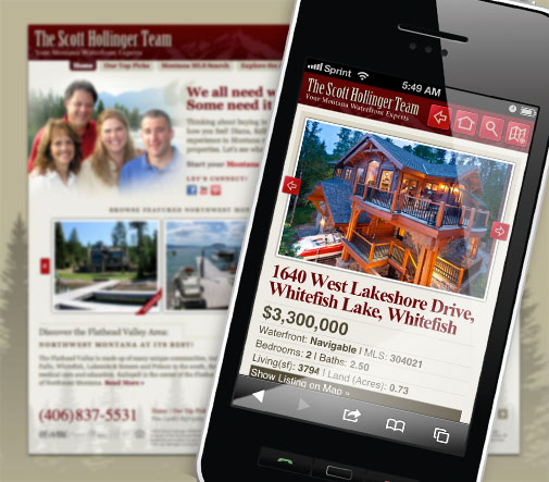 REMAX Mobile Website Design
