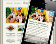 Smith's Kauai Mobile Website Design