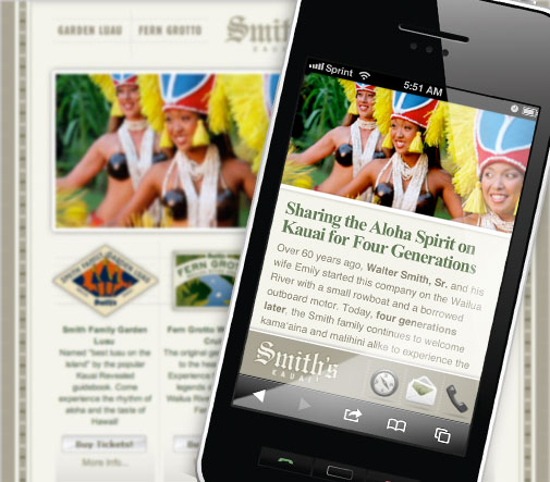 Smith's Mobile Website Design