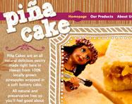 Piña Hawaii Website Design
