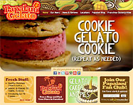 Gelato Franchise Website