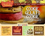 Gelato Franchise Website