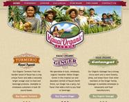 Farm Website Design