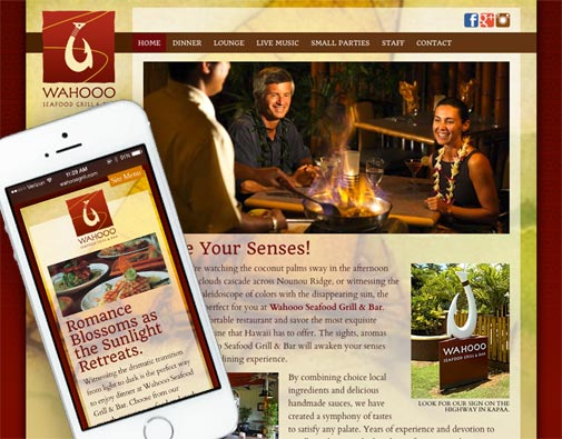 Wahooo's WordPress Website Design