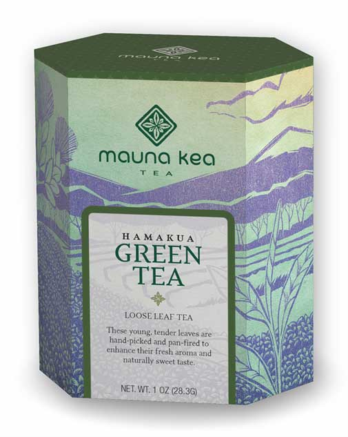 Mauna Kea Tea Packaging Design
