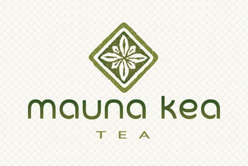 Mauna Kea Tea Logo Design