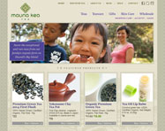 Tea Website Design