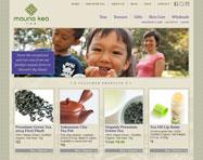 Tea Website Design