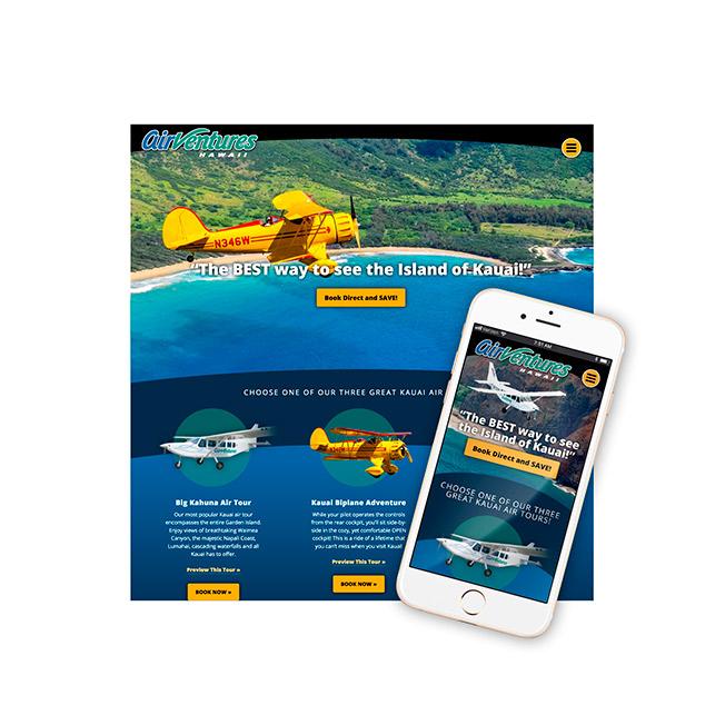 AirVentures Website