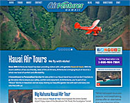 Air Tour Wordpress Website