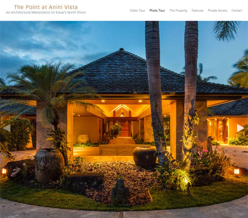 Anini Vista Website Design