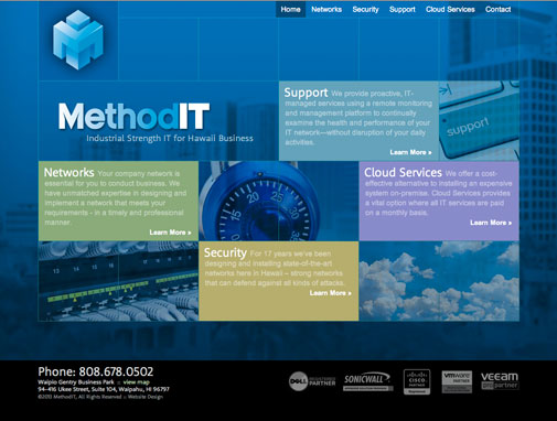 MethodIT Website Design