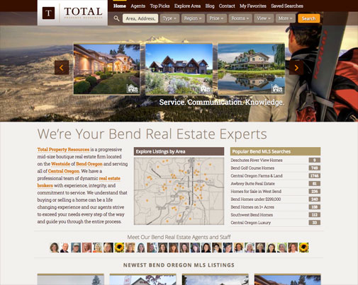 Total Property Real Estate Website