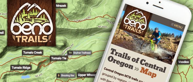 Mountain Bike Website Design