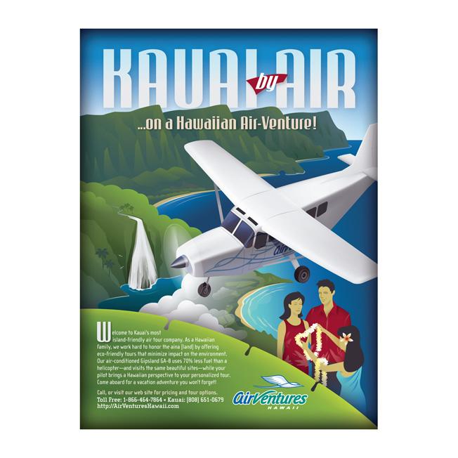 AirVentures Hawaii Advertising