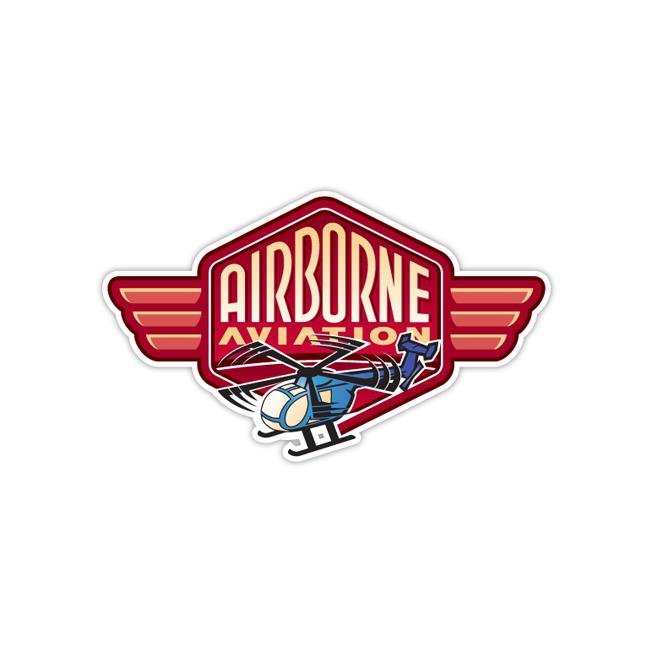 Airborne Aviation Logo Design