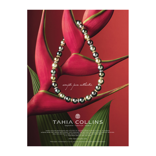 Tahia Pearls Full Page Ad