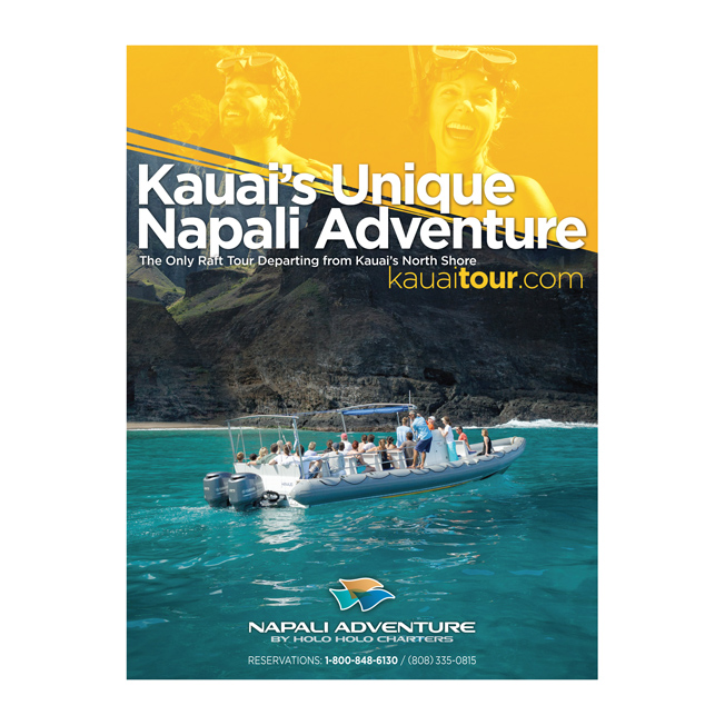 Napali Adventure Tour Advertising