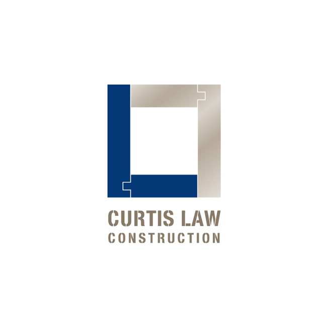 Curtis Law Construction Logo Design