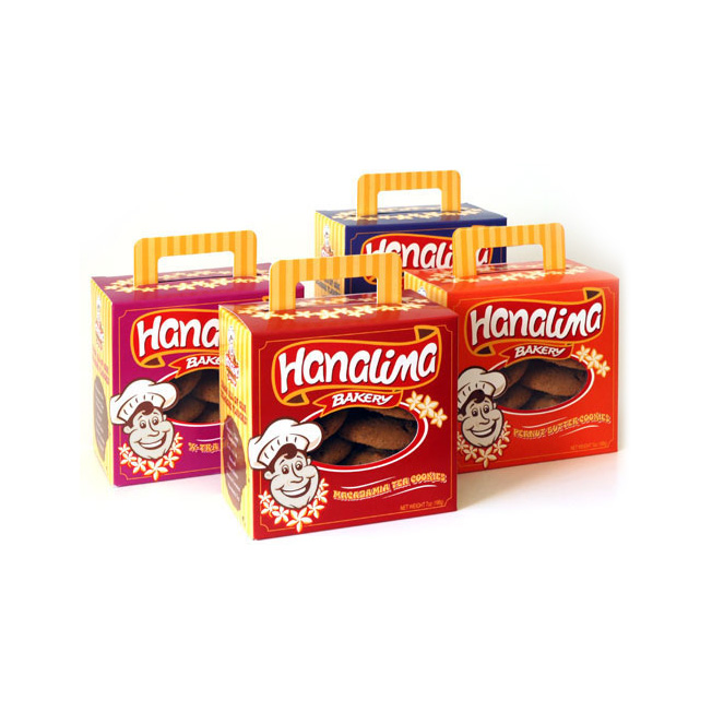 Hanalima Bakery Cookie Box Design