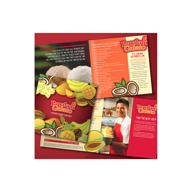 Papalani Gelato Franchise Brochure