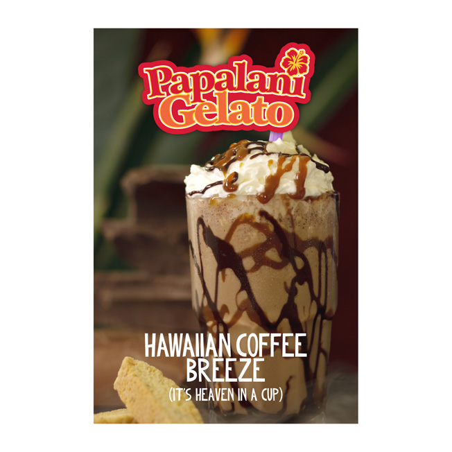 Papalani Gelato Window Posters